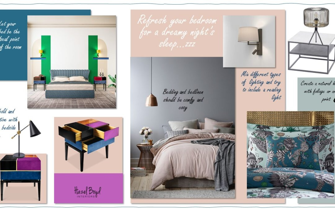 How to plan a Bedroom Refresh